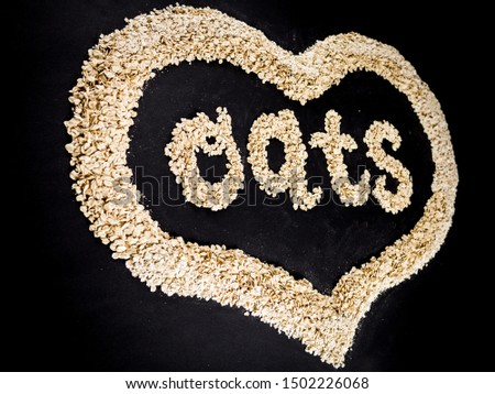 the word oats made with oats #1502226068