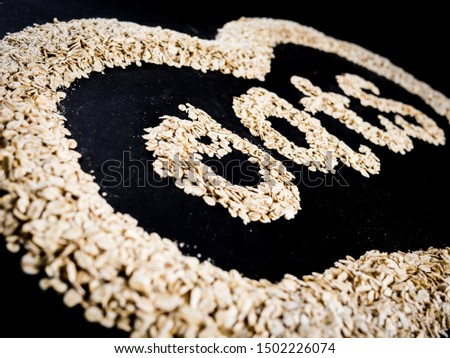 the word oats made with oats #1502226074