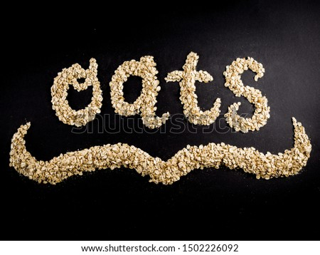 the word oats made with oats #1502226092