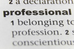 The Word Professional Close Up
