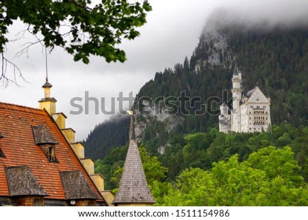 The world-famous Castle Neuschwanstein, Bavaria, Germany #1511154986