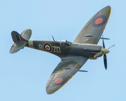 The World Famous WW2 British  Fighter