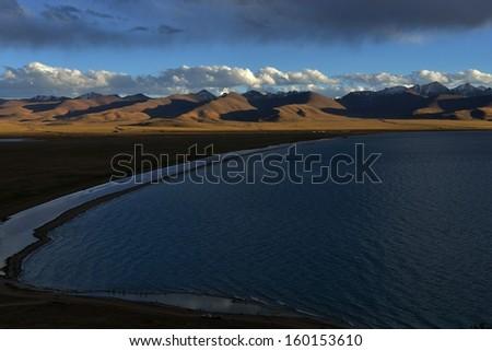 The world's highest saltwater lake Namucuo