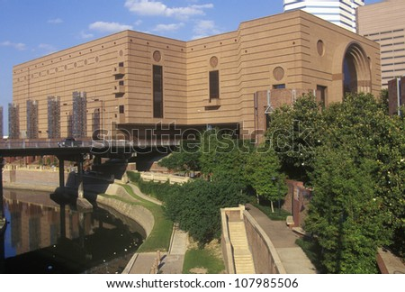 The Wortham Performing Art Center in Houston, Texas