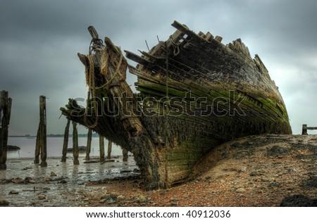 The wreck of the Hans Egede - a Dutch schooner. #40912036