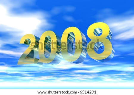 The year 2008 in gold