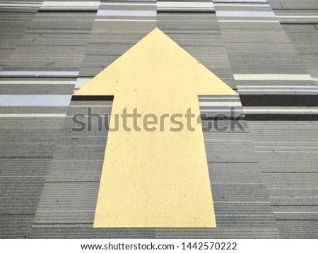 The yellow arrow tells the path on the path #1442570222