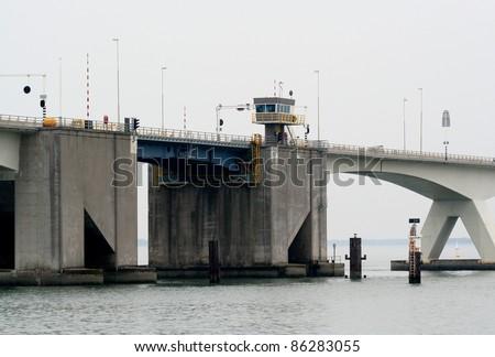The Zeeland Bridge is the longest bridge in the Netherlands.