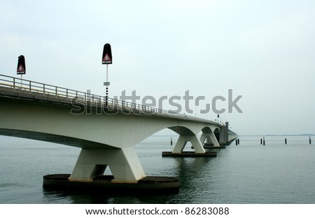 The Zeeland Bridge is the longest bridge in the Netherlands.