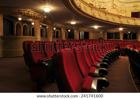 Theater - interior view  #241741600