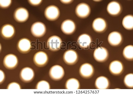 Theater Marquee lights #1264257637
