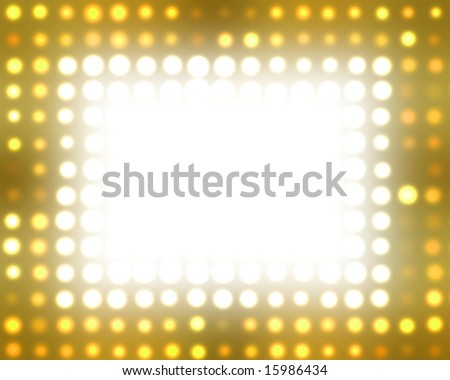 Theater Marquee Lights