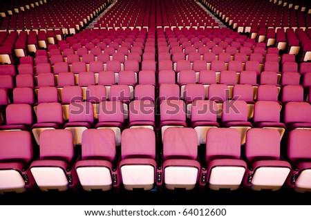 Theater Seat - stock photo
