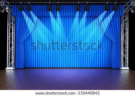 Как сделать театральный прожектор
