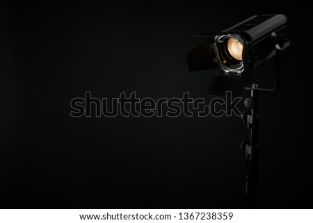 Theatre fresnel profile lighting fixture #1367238359