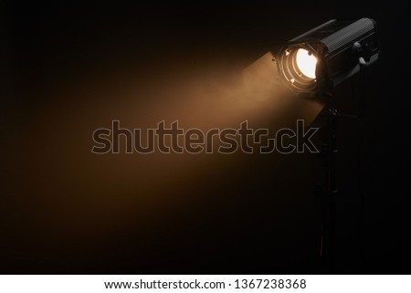 Theatre fresnel profile lighting fixture #1367238368