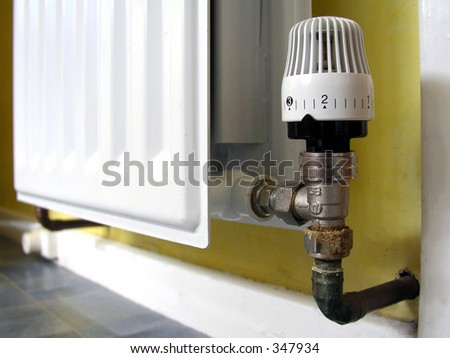 Themostatic Radiator Valve in central heating system