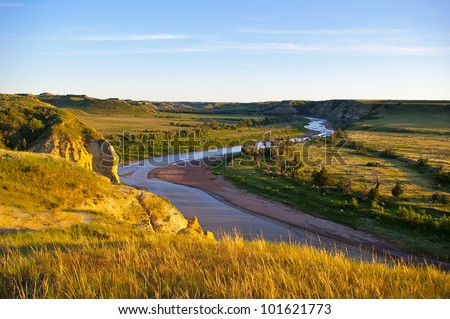 Theodore Roosevelt National Park - The Little Missouri River