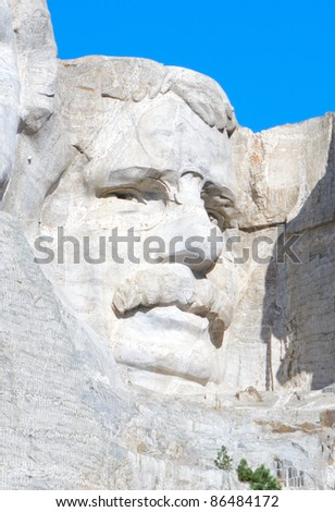 Theodore Roosevelt on Mount Rushmore