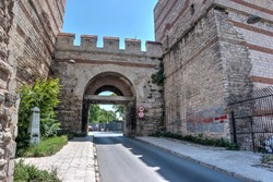 Theodosian Walls of Constantinople, Turkey