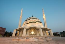 Theology Mosque. Altunizade, Istanbul, Turkey.
