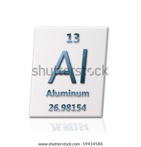 There is a chemical element Aluminum with all information about it