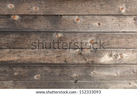 There is a lot of space for copy on this photograph of an old wood background.