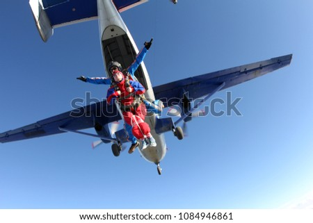 There is a present for physically challenged woman. Skydiving tandem.