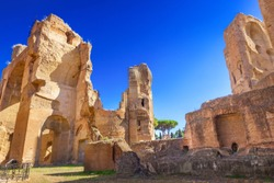 Thermae of Caracalla, Rome, Italy