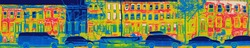 Thermal image of first NYC Passive House on 12 degree F winter night - 2012