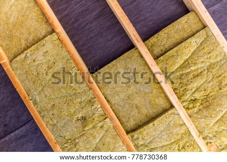 Free insulation photos for Mineral wool installation