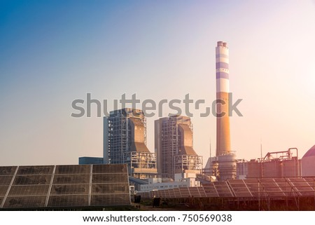 Thermal power and solar power #750569038