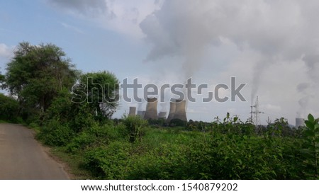 thermal power station.power genarated.power uses  many industrial. home . #1540879202