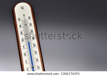Thermometer 18 degrees celsius