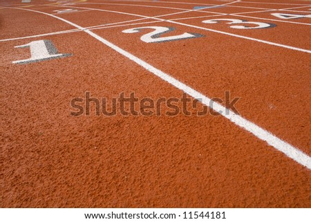 These are Track numbers on  Red Field