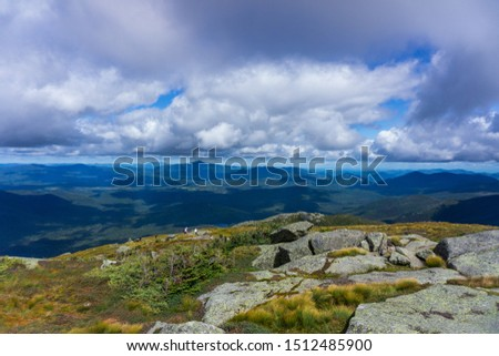 These photos were taken while hiking Wright, Algonquin, and Iroquois Peak trail in the High Peaks in the Adirondacks