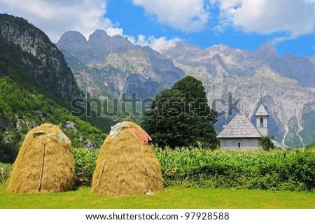 Theth Valley. Prokletije Mountains. Albania