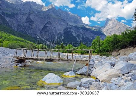 Thett Valley. Prokletije Mountains. Albania