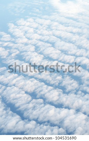 Thick Clouds - view from a plane