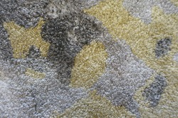 thick thread hand turf rug texture