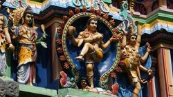 Thillai Natarajah or Chidambaram Temple in Chidambaram, India