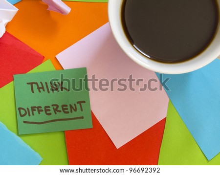 Think different note