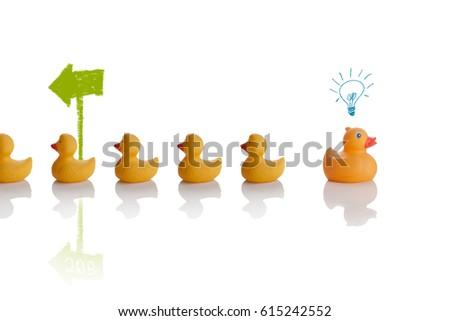 think different, success concept #615242552