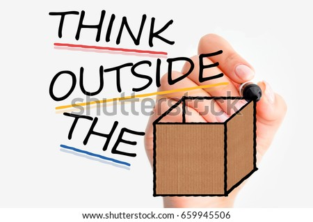 Shutterstock Think outside the box or different if you want to have success in business
