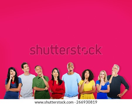 Thinking Ideas Innovation Thoughts People Concept - Shutterstock ID 266930819