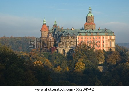 Third the biggest polish castle in Walbrzych