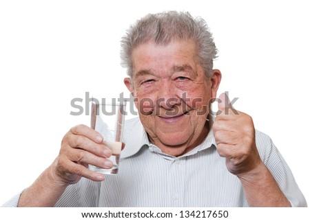 Thirsty Senior