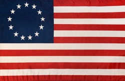 thirteen star Betsy Ross flag