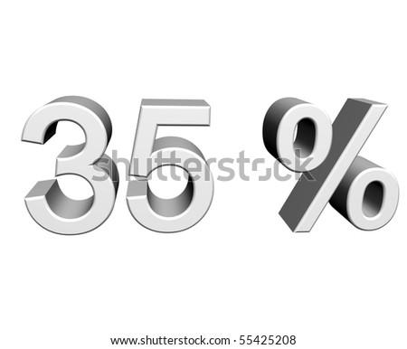 thirty-five percent