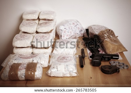 Shutterstock Thirty kilos of drugs seized to dealers